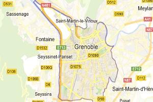 Alrededores de Grenoble - distancias