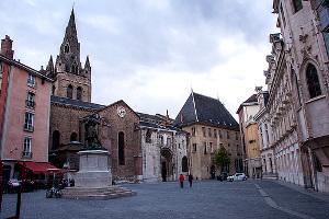 Iglesia de St. André en Grenoble
